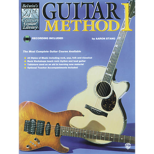 Alfred Guitar Method 1 Book-thumbnail