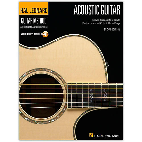 Hal Leonard Guitar Method Acoustic Guitar (Book/Online Audio)-thumbnail