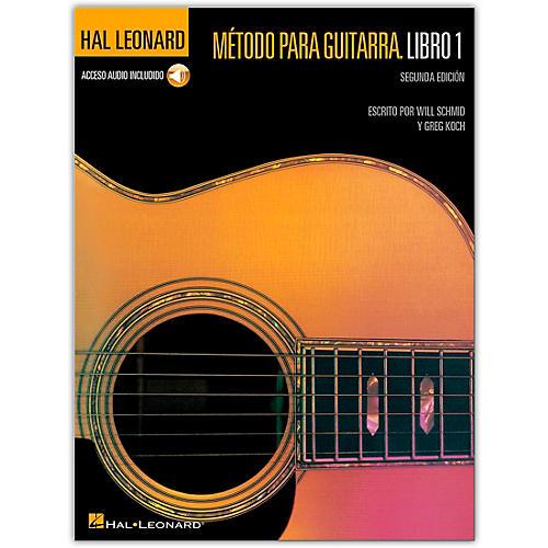 Hal Leonard Guitar Method Book 1 - Spanish 2nd Edition (Libre/Audio en Línea)