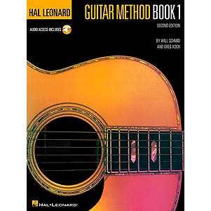 Hal Leonard Guitar Method Book 1 Book/Online Audio