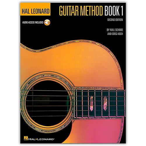 Hal Leonard Guitar Method Book 1 (CD and Book)