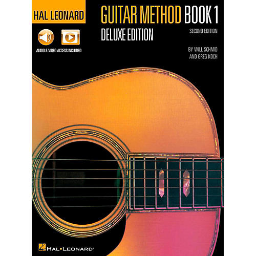 Hal Leonard Guitar Method Book 1 Deluxe Edition (Audio & Video Online)