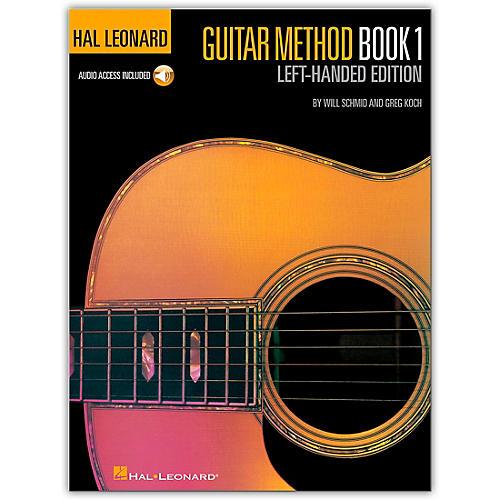 Hal Leonard Guitar Method Book 1 Left-Handed Edition (Book/Online Audio)-thumbnail