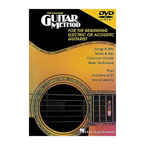 Hal Leonard Guitar Method DVD