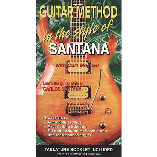 MVP Guitar Method In The Style Of Santana VHS