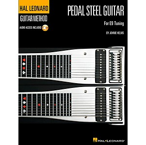 Hal Leonard Guitar Method Pedal Steel Guitar Book/CD for E9 Tuning by Hal Leonard