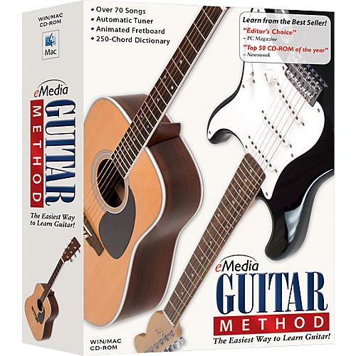 Emedia Guitar Method Volume 1 for Beginners CD-ROM-thumbnail