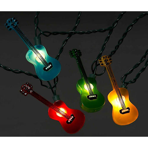 Kurt S. Adler Guitar Multi-Color Light Set 10 Lights-thumbnail