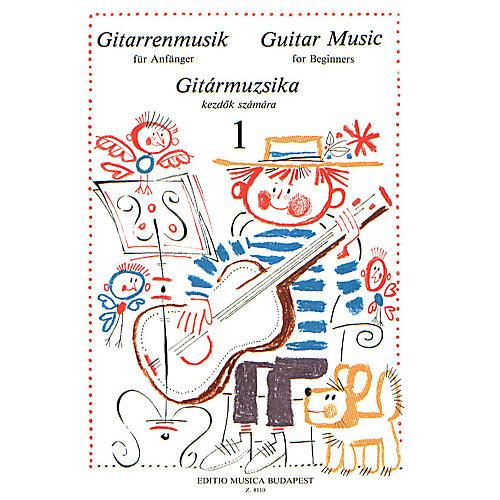 Editio Musica Budapest Guitar Music for Beginners - Volume 1 (Guitar Solo) EMB Series