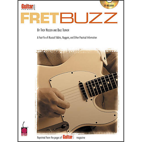 Cherry Lane Guitar One Presents Fret Buzz (Book/CD)-thumbnail