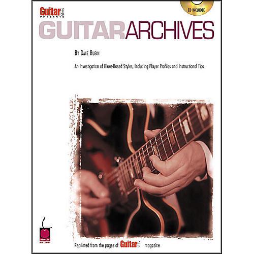 Cherry Lane Guitar One Presents Guitar Archives (Book/CD)-thumbnail