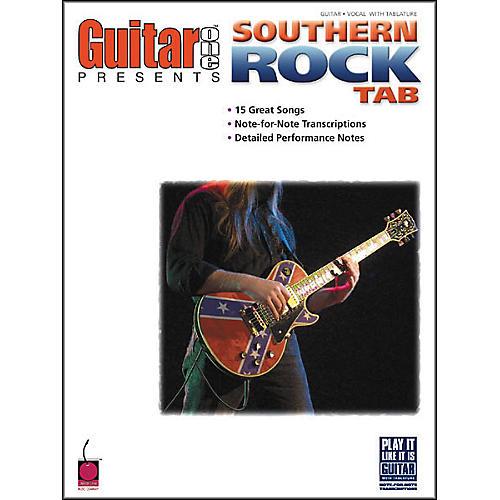 Cherry Lane Guitar One Presents Southern Rock Tab Book-thumbnail