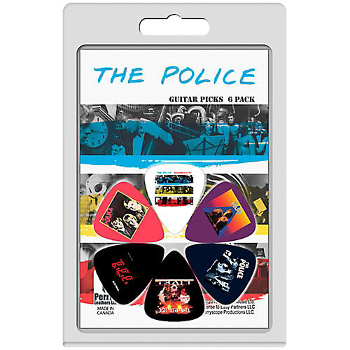 Perri's Guitar Picks - 6-Pack The Police