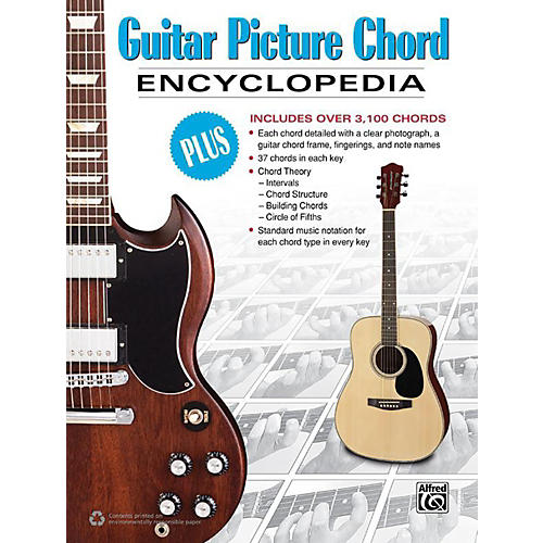 Alfred Guitar Picture Chord Encyclopedia Book