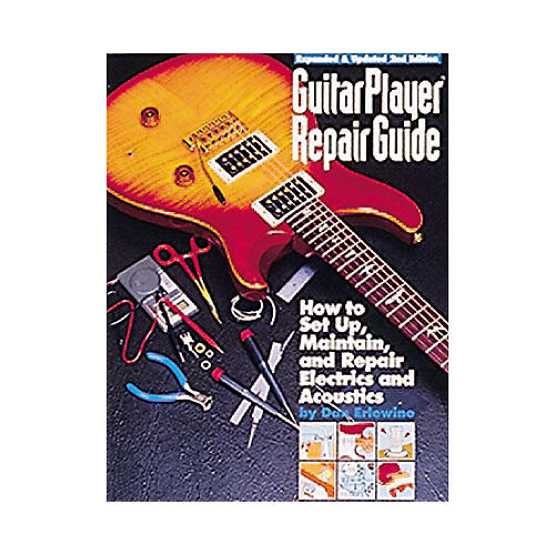 Hal Leonard Guitar Player Repair Guide Book-thumbnail