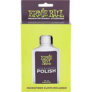 Ernie Ball Guitar Polish and Cloth by Ernie Ball