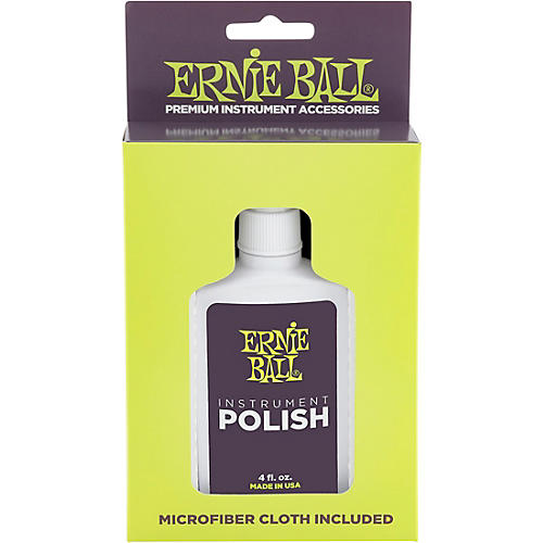 Ernie Ball Guitar Polish And Cloth-thumbnail