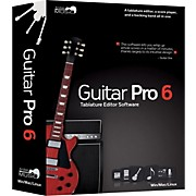 Guitar Pro 6.0 Tablature Editing Software