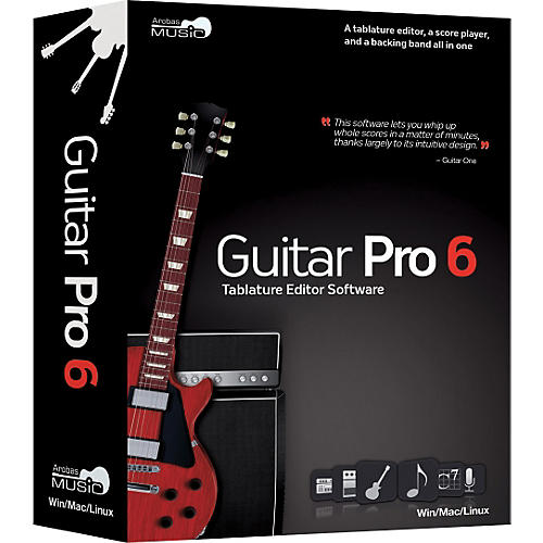 Emedia Guitar Pro 6.0 Tablature Editing Software | Guitar Center