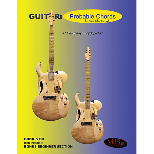 MJS Music Publications Guitar Probable Chords (Book/CD)
