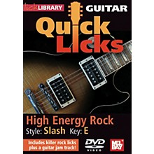 Mel Bay Guitar Quick Licks - Slash Style, High Energy Rock (DVD)