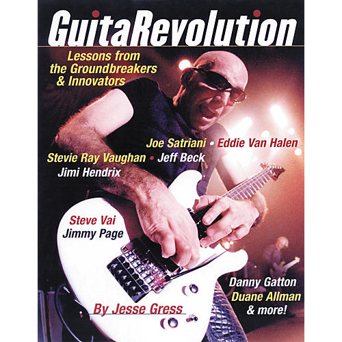 Backbeat Books Guitar Revolution - Lessons from the Groundbreakers and Innovators (Book)
