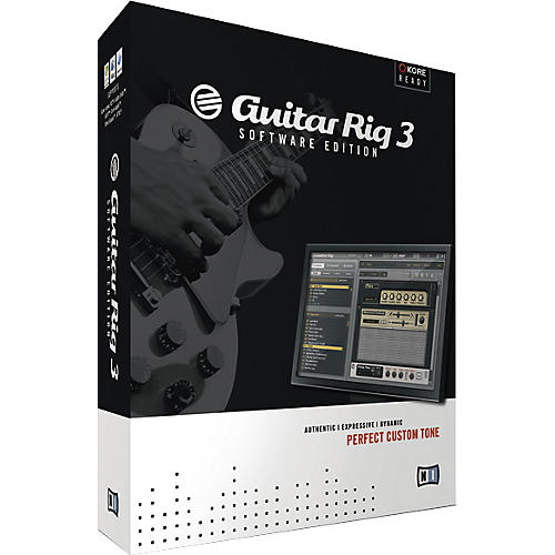 Native Instruments Guitar Rig 3 Software Edition