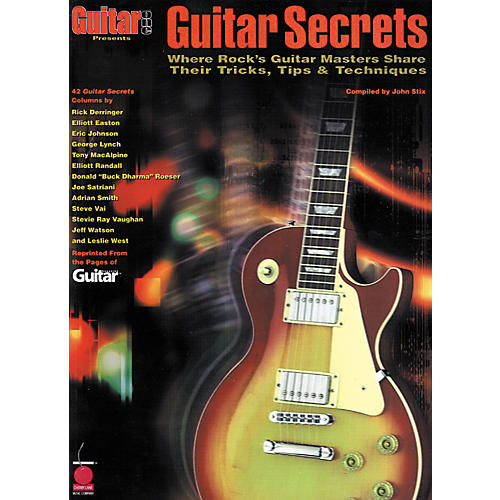 Hal Leonard Guitar Secrets Book-thumbnail