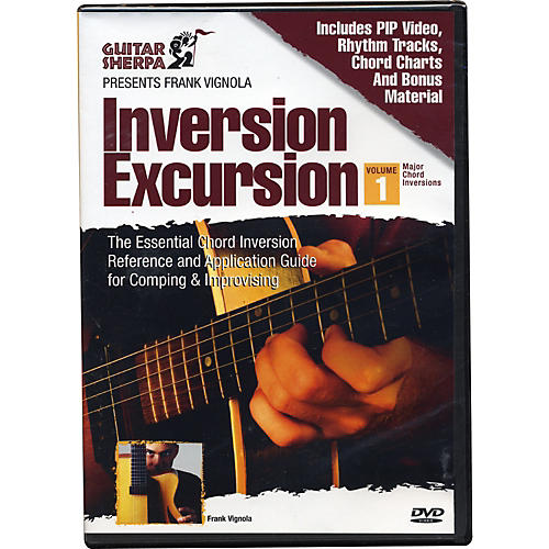 Music Sales Guitar Sherpa Presents Frank Vignola: Inversion Excursion (DVD)-thumbnail
