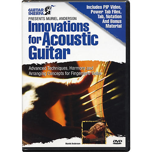 Music Sales Guitar Sherpa Presents Muriel Anderson: Innovations for Acoustic Guitar (DVD)-thumbnail
