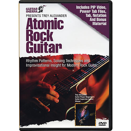 Music Sales Guitar Sherpa Presents Trey Alexander: Atomic Rock Guitar (DVD)-thumbnail