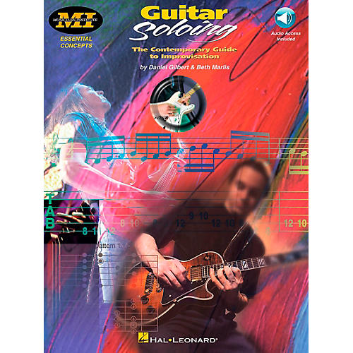 Hal Leonard Guitar Soloing Book/CD-thumbnail