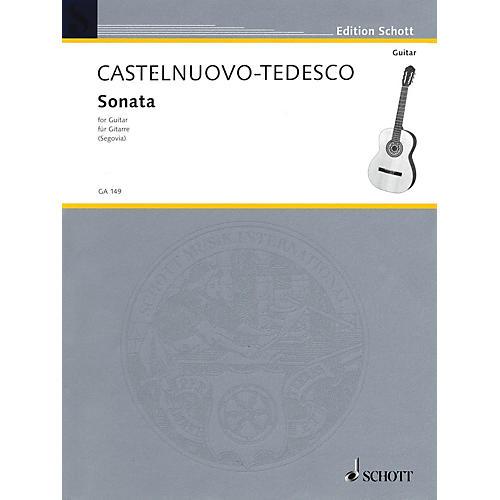 Schott Guitar Sonata (Hommage to Boccherin) Schott Series