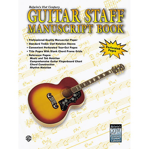 Alfred Guitar Staff Paper Book-thumbnail
