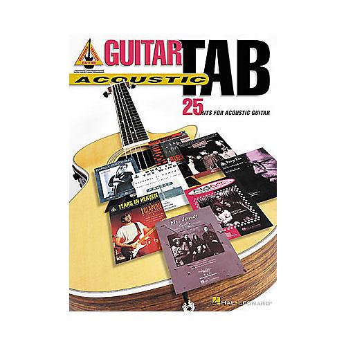 Hal Leonard Guitar Tab - Acoustic Book