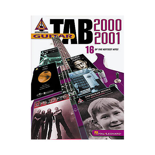 Hal Leonard Guitar Tab 2000-2001