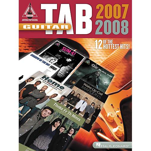 Hal Leonard Guitar Tab 2007-2008 Songbook