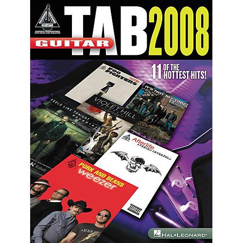 Hal Leonard Guitar Tab 2008 - Guitar Recorded Version Series (Songbook)-thumbnail