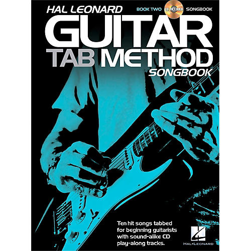 Hal Leonard Guitar Tab Method Songbook 2 Book/CD