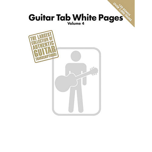 Hal Leonard Guitar Tab White Pages - Volume 4