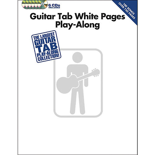 Hal Leonard Guitar Tab White Pages Play-Along (Book/6-CD Pack)-thumbnail