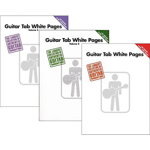Hal Leonard Guitar Tab White Pages Vol. 1 - 3-thumbnail