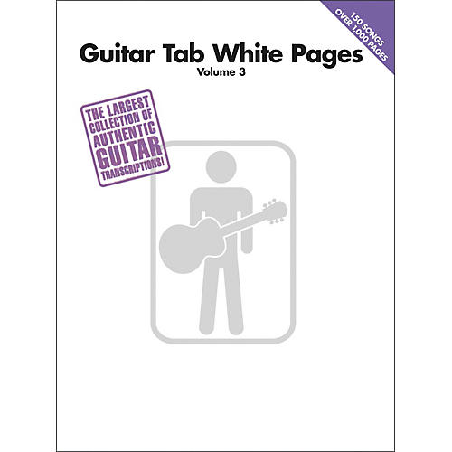 Hal Leonard Guitar Tab White Pages Volume 3-thumbnail