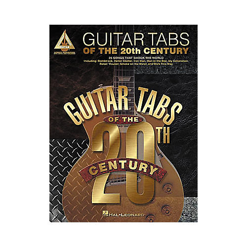 Hal Leonard Guitar Tabs of the 20th Century Book