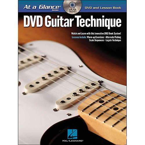 Hal Leonard Guitar Technique - At A Glance (Book/DVD)-thumbnail