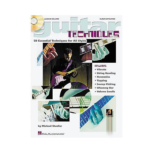 Hal Leonard Guitar Techniques Book/CD