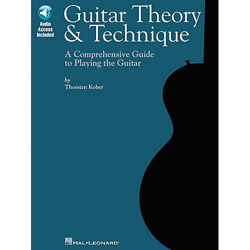 Hal Leonard Guitar Theory & Technique (Book/CD)-thumbnail