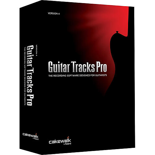 Cakewalk Guitar Tracks Pro 4 upgrade from Guitar Tracks Pro-thumbnail