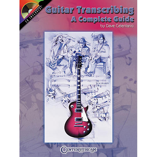 Centerstream Publishing Guitar Transcribing (Book/CD)