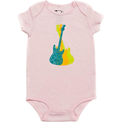 Fender Guitar Trio Girl's Onesie-thumbnail